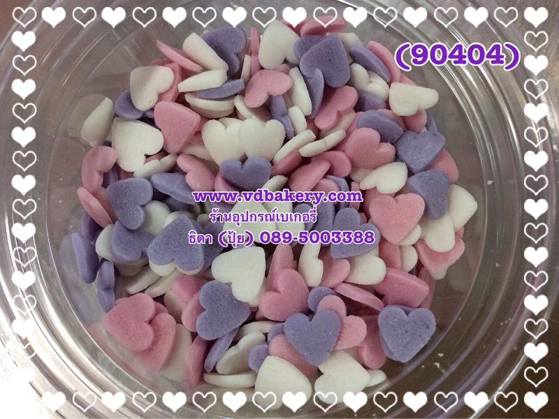 (5804209) Sugar Heart White Pink Lilac (50 g.)